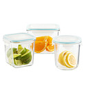 Glasslock Slimline Food Storage with Lids
