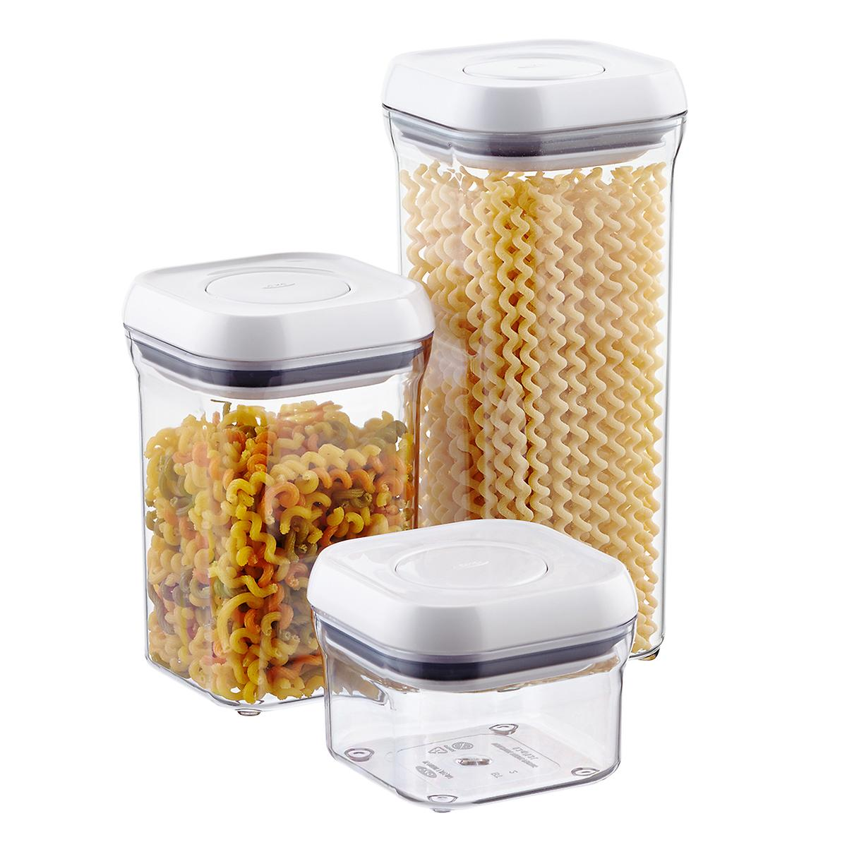 Oxo Good Grips 4 Quot Square Pop Canisters The Container Store