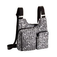baggallini Chevron A-List Crossbody