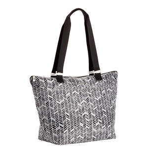 baggallini Chevron City Tote