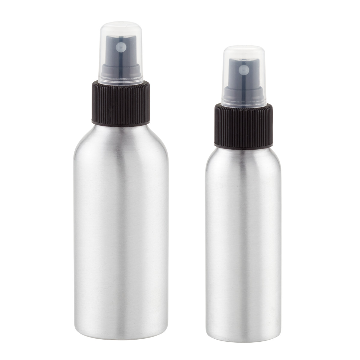 iDesign Aluminum Travel Mister Bottles