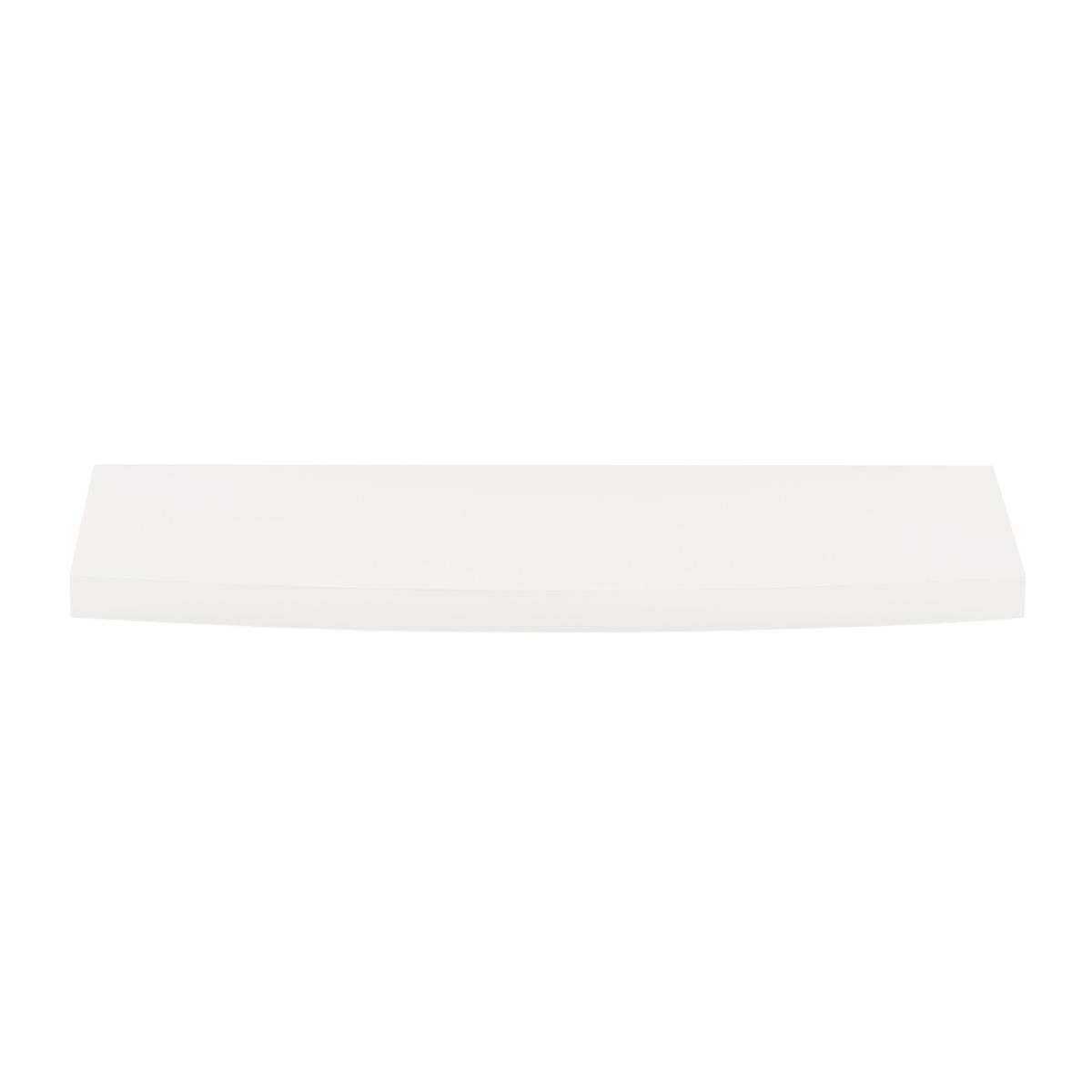 White elfa Accessory Shelves