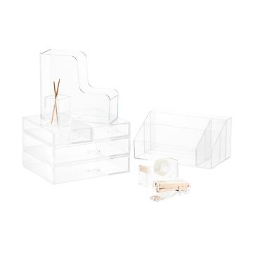 Clear Desktop Organizers
