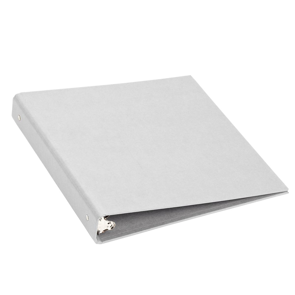 "Bigso Light Grey Stockholm 1"" Three-Ring Binder"