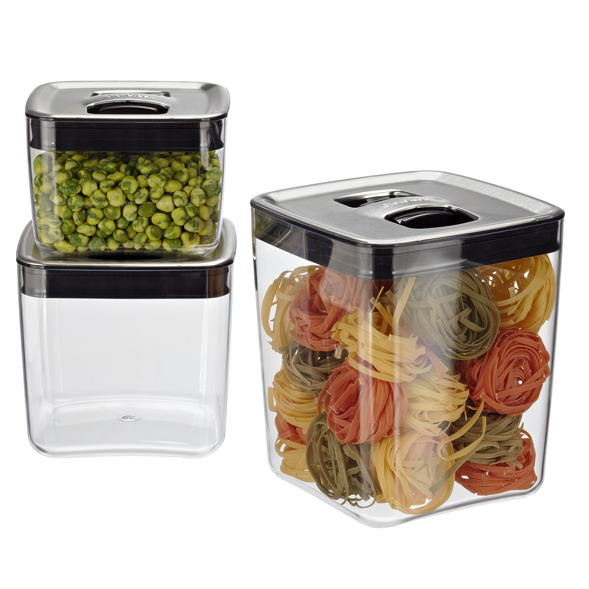 Click Clack Cubes With Stainless Lids ... Design Ideas