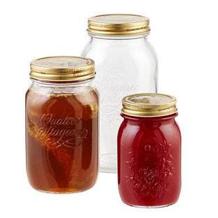 Quattro Stagioni Glass Canning Jars