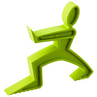 Lime Green James the Doorman Door Stop