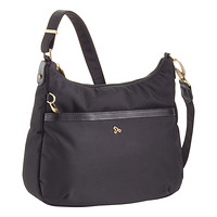 Travelon Black Anti-Theft Hobo Bag