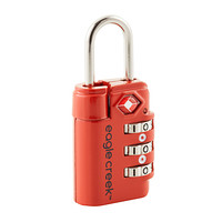 Eagle Creek Flame Orange TSA Travel Safe Lock