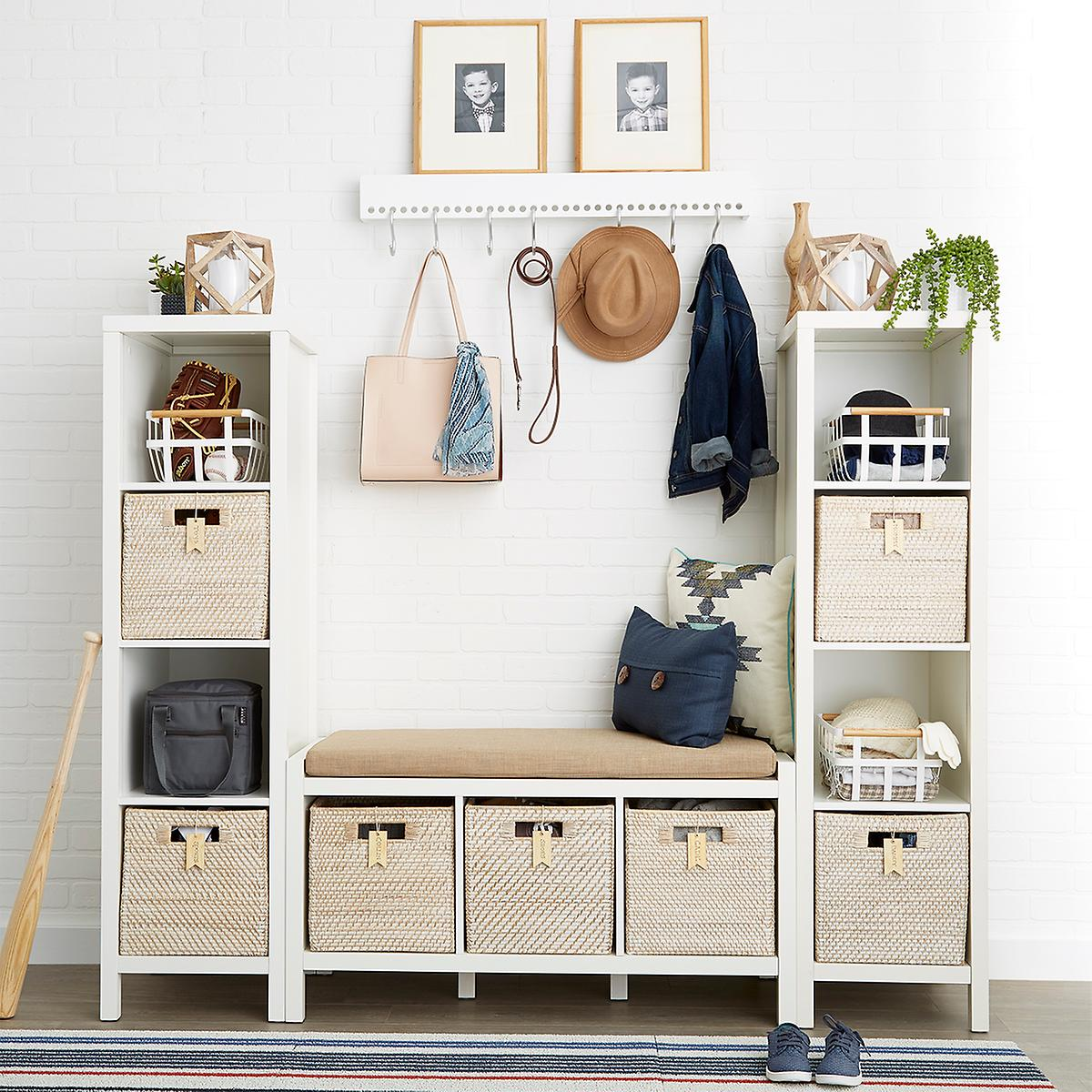 Foyer Mudroom Kits : Our division entry starter kit the container store