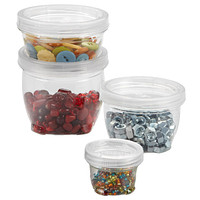 Lockups Stackable Plastic Storage Containers