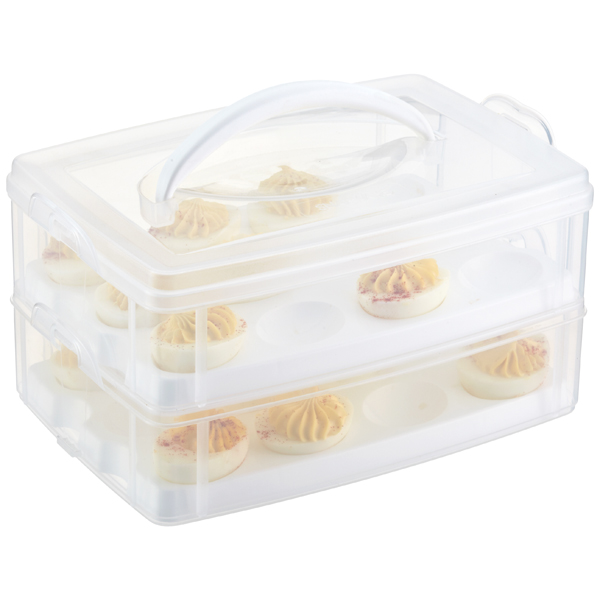 Snap & Stack Egg-Tainer