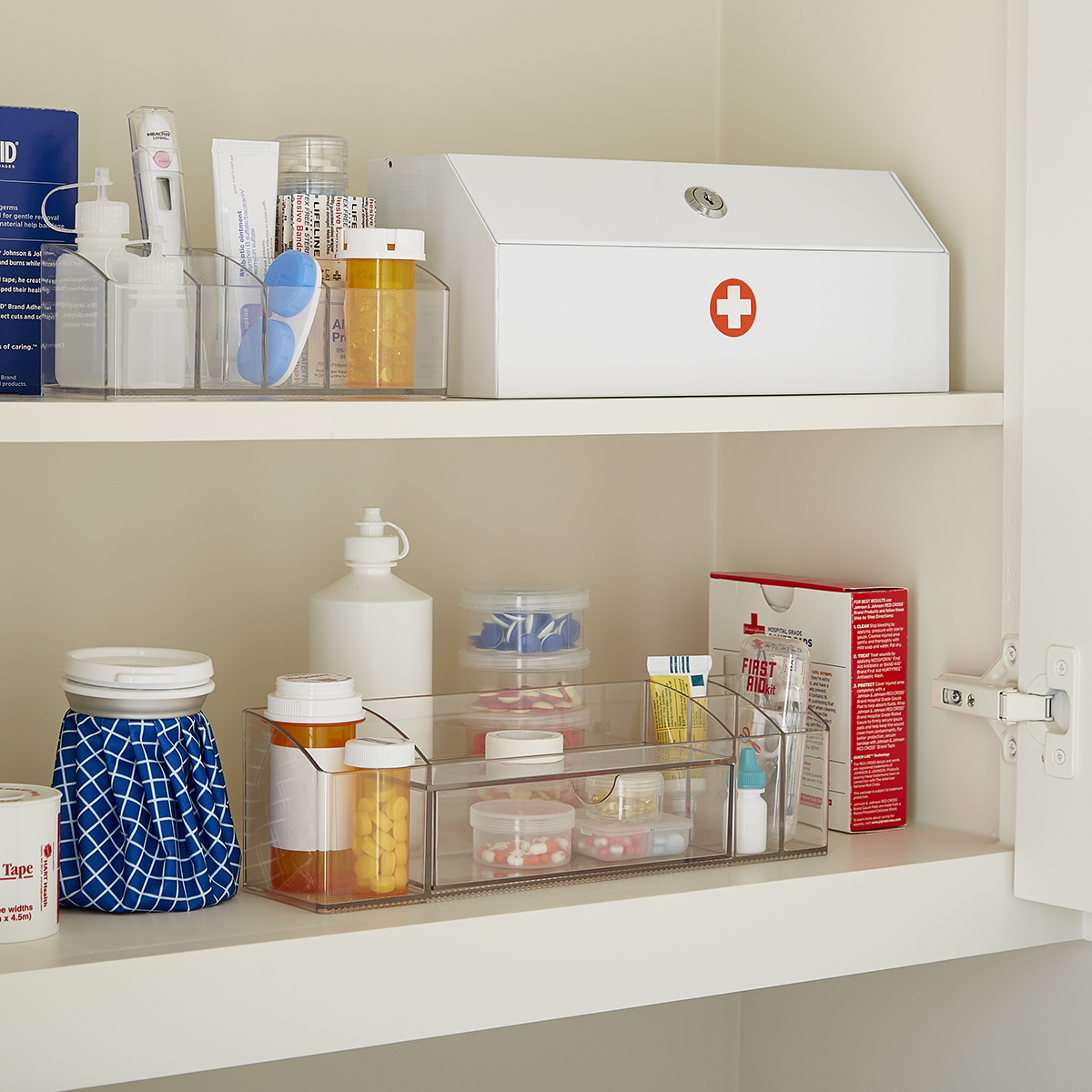 linus medicine cabinet organizer