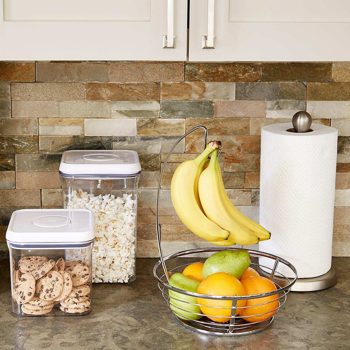 Kitchen Countertop Stores : Umbra Nickel Tug Paper Towel Holder The Container Store