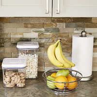 Interior Kitchen Countertop Storage paper towel holders kitchen countertop storage the container store starter kit