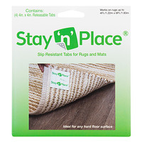 Indoor Stay n Place Rug Tabs