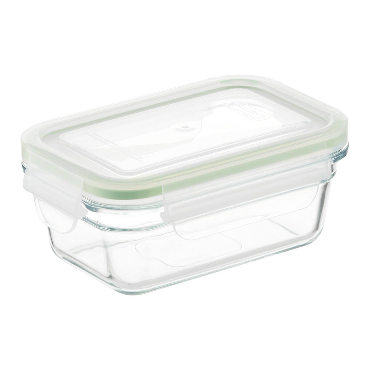 Glasslock Rectangular Food Containers With Lids The