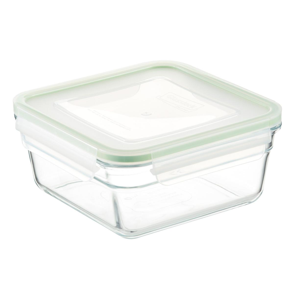 Glasslock Square Food Containers With Lids The Container Store