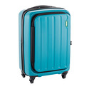 "Lojel Turquoise 22"" Hatch 4-Wheeled Luggage"
