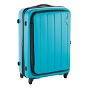"Lojel Turquoise 26"" Hatch 4-Wheeled Luggage"