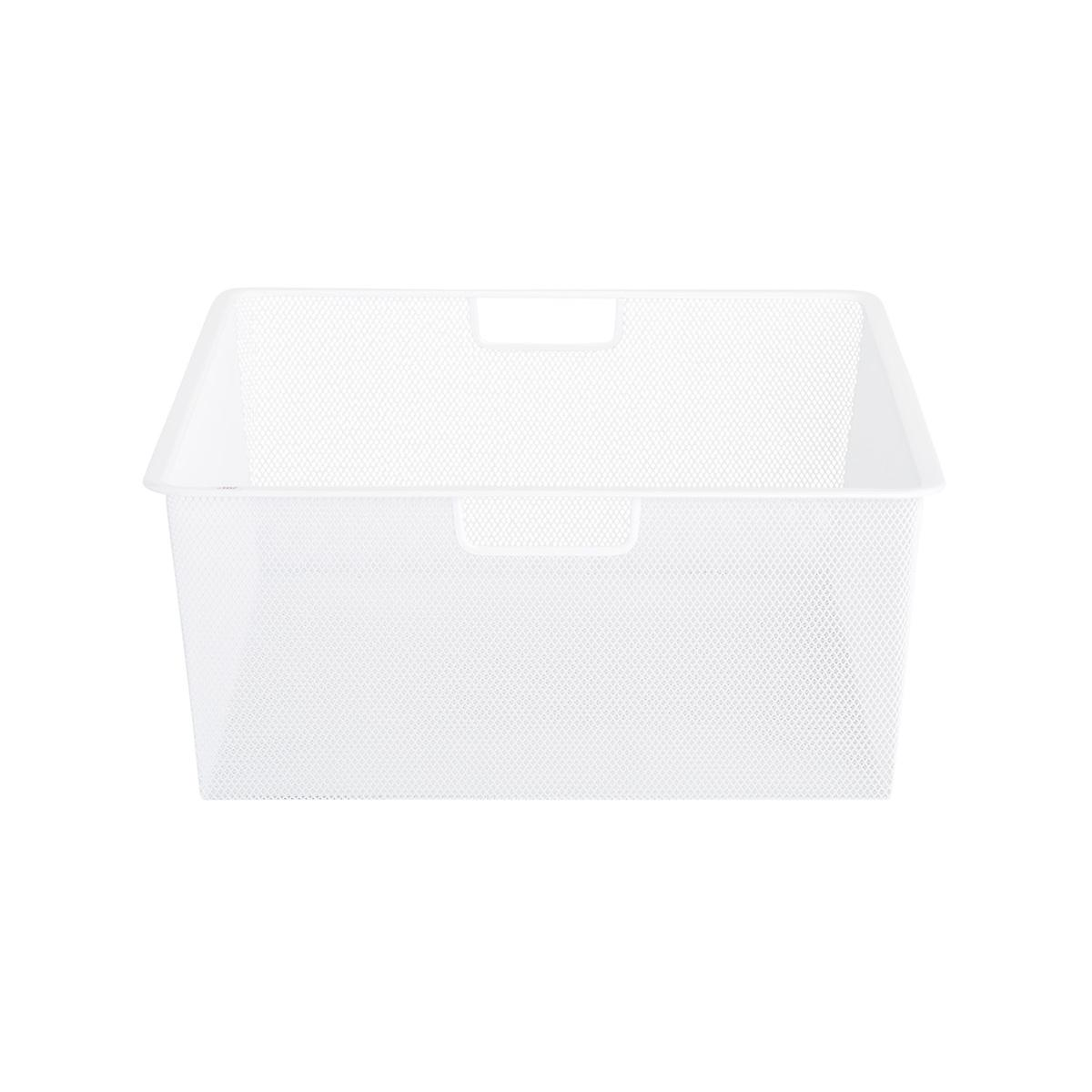 White elfa Mesh Drawers