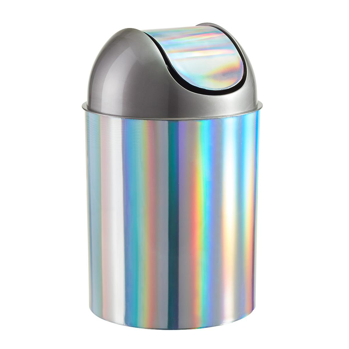 simplehuman trash cans garbage cans  plastic trash cans  the  - umbra  gal rainbow mezzo swinglid trash can