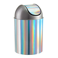 Umbra 2.5 gal. Rainbow Mezzo Swing-Lid Trash Can