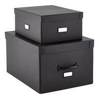 Our Graphite Bigso Storage Boxes