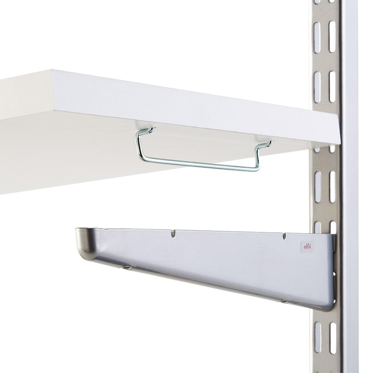 Galvanized Solid Shelf Connectors