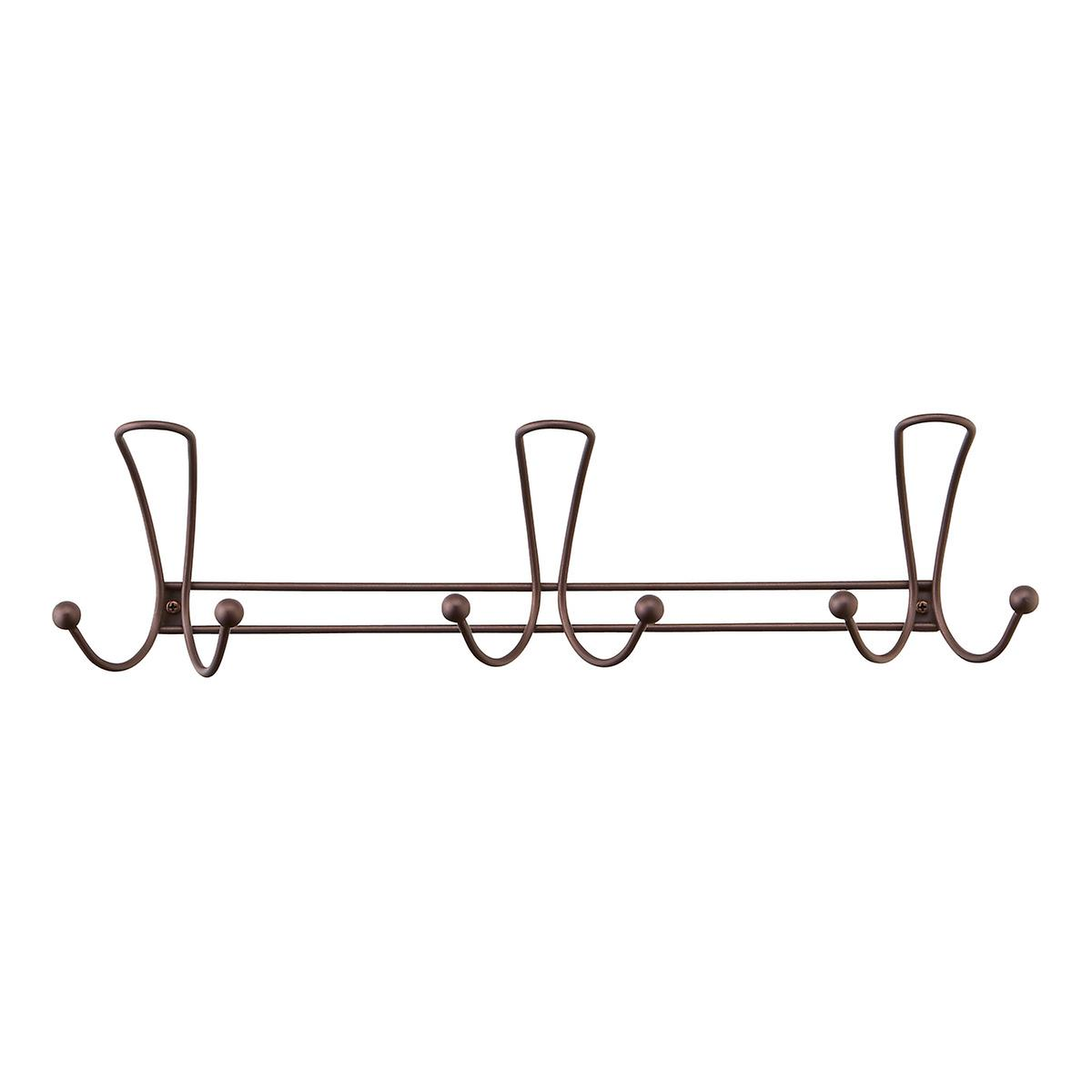 Bronze Quazar Multi-Hook Rack