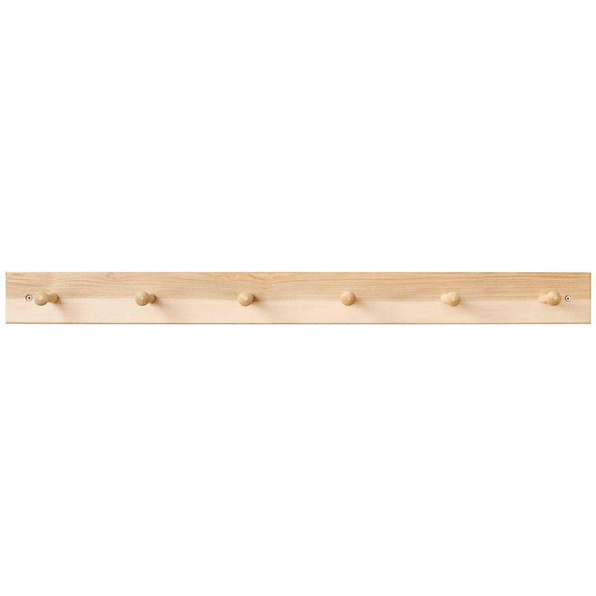 Maple Shaker Peg Racks The Container Store