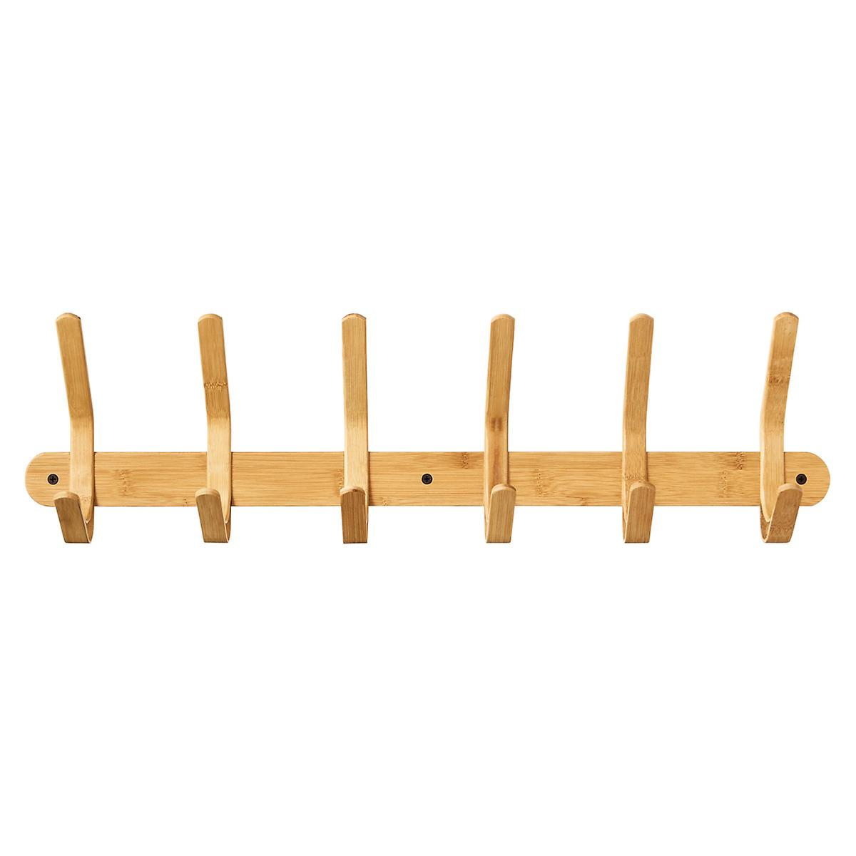 Bamboo Coat & Hat Rack