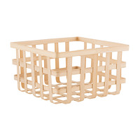 Square Bamboo Storage Basket
