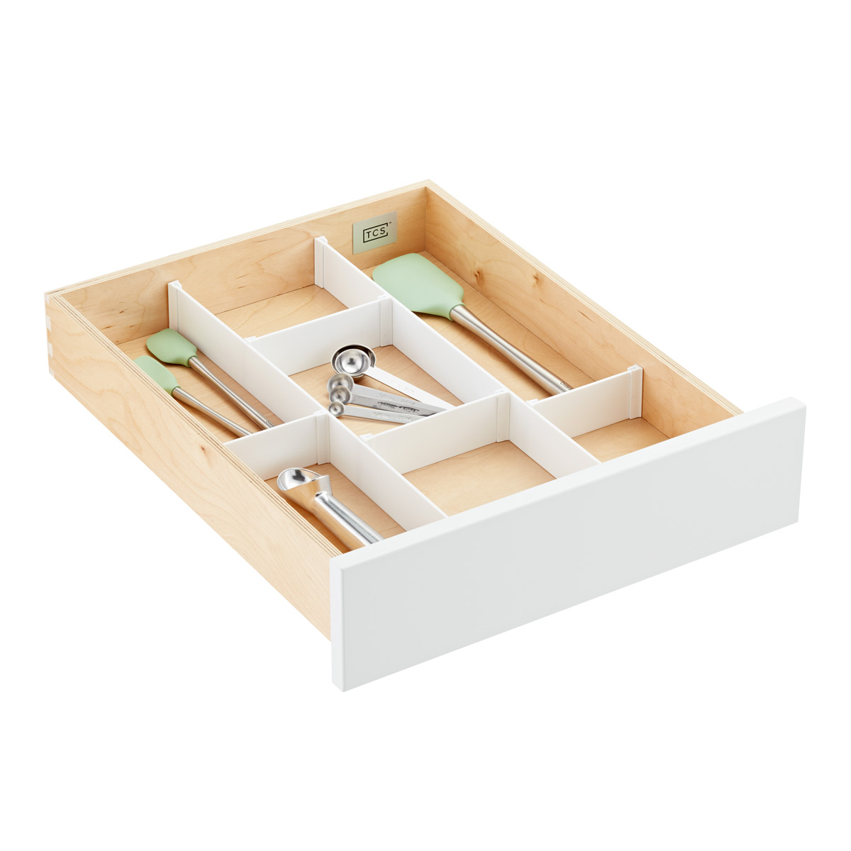 Custom Drawer Organizer Strips