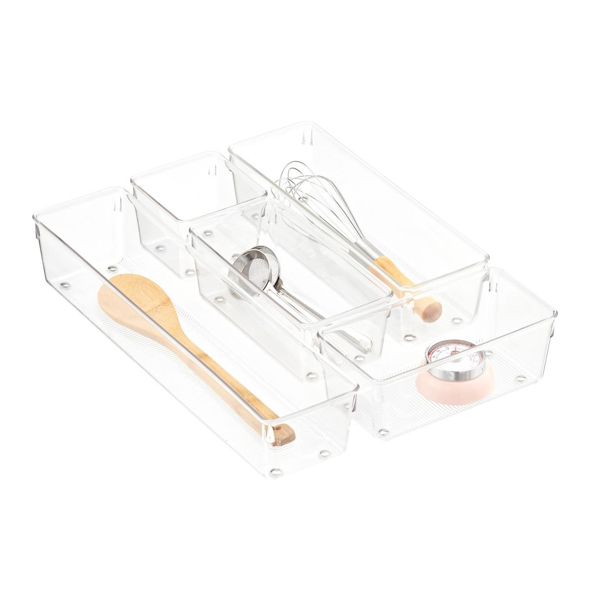 Kitchen Drawer Organizer Drawer Organizers Utensil Holders Silverware Trays The