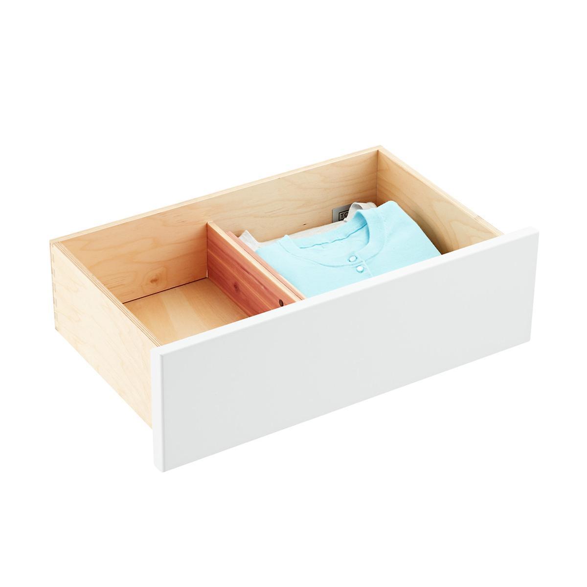 Cedar Adjustable Drawer Organizer | The Container Store