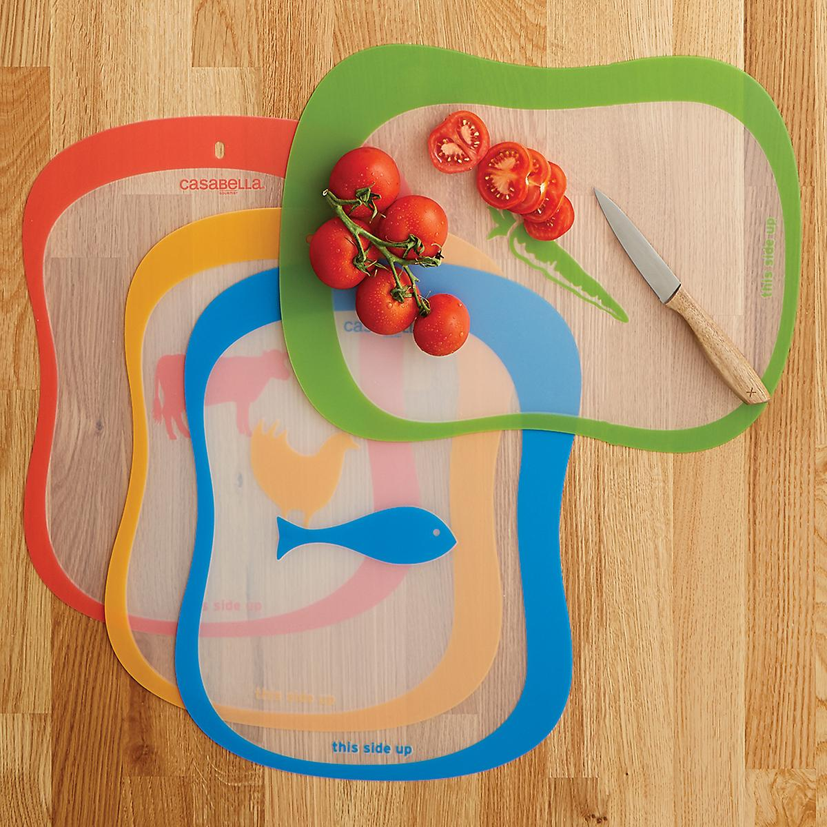 Casabella Color-Coded Cutting Mats