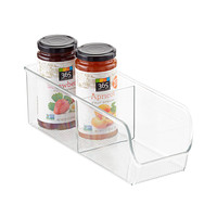 Linus 2-Section Divided Cabinet Organizer