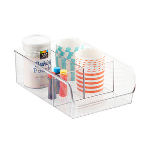 InterDesign Linus Wide 3-Section Cabinet Organizer
