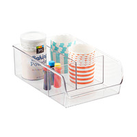 Linus Wide 3-Section Cabinet Organizer