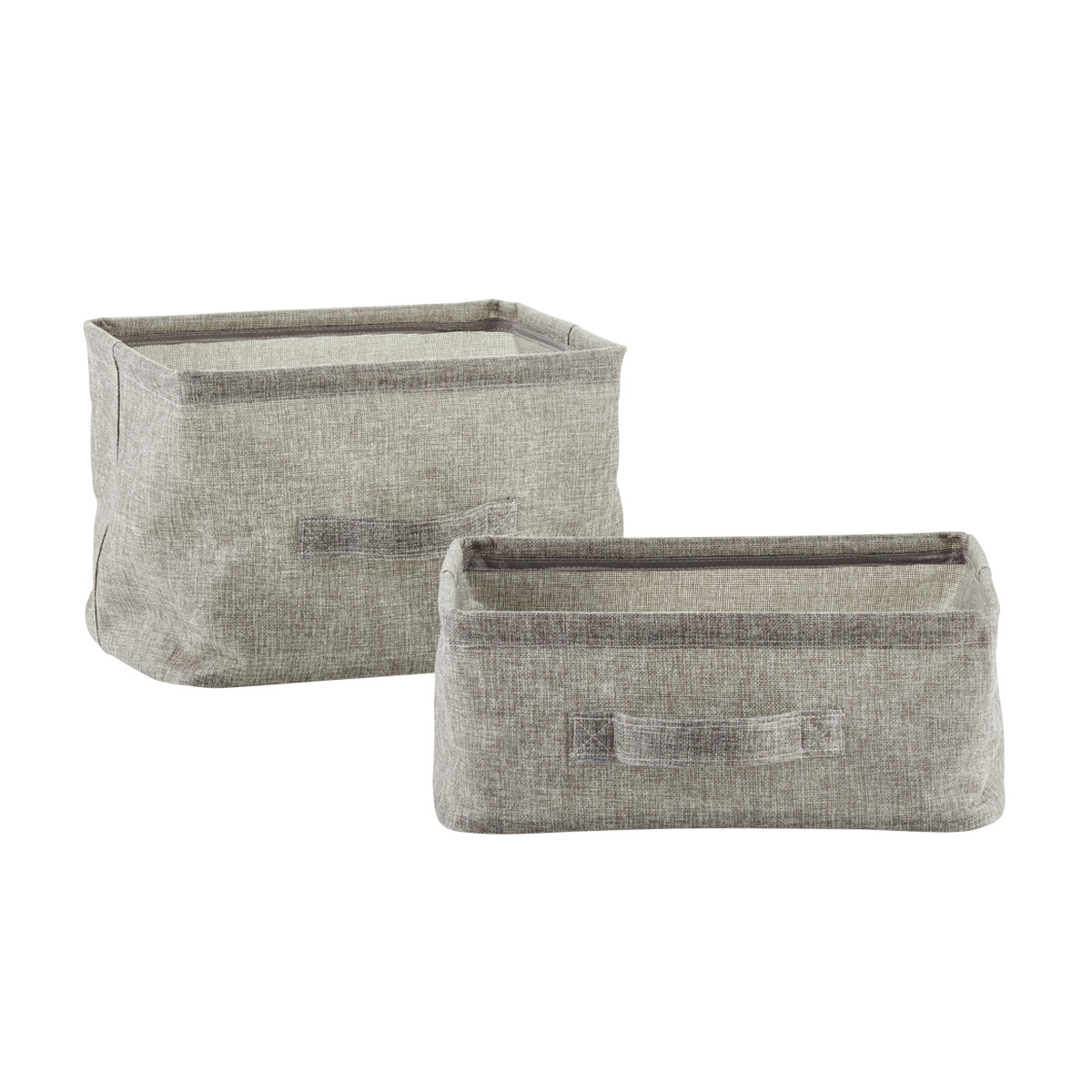 Grey Collapsible Bins