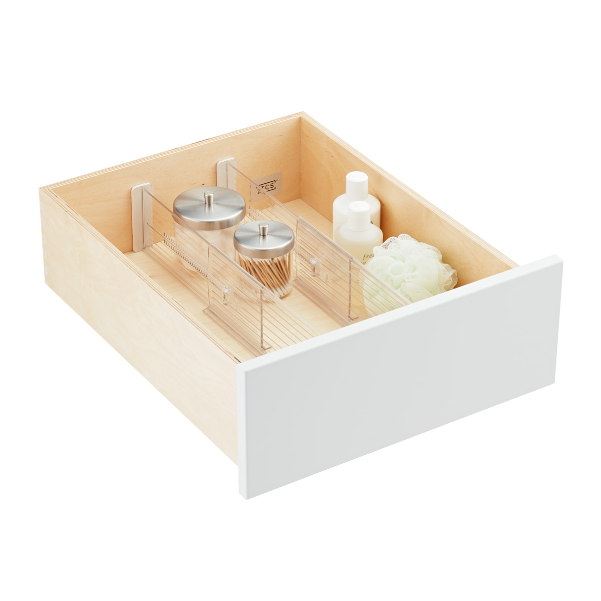 "4"" Expandable Drawer Dividers"