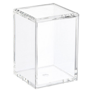 Tall Acrylic Canister with Lid