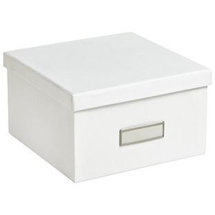 Bigso White Stockholm Photo Storage Box  sc 1 st  The Container Store & Photo Boxes - Bigso Graphite Stockholm Photo Storage Box | The ... Aboutintivar.Com
