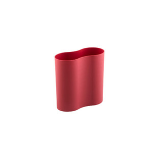Charmant Red 2 Qt. Eco Cocoon Trash Can