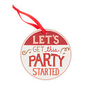 Let's Party Coaster Tag