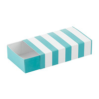 Blue Striped Match Boxes