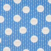 Blue Surprise for You Wrapping Paper