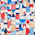 Abstract Nautical Shapes Wrapping Paper