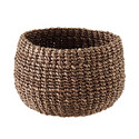 Brown Round Tahiti Storage Bowl